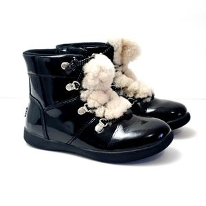 Ugg Ager Patent Leather Boots